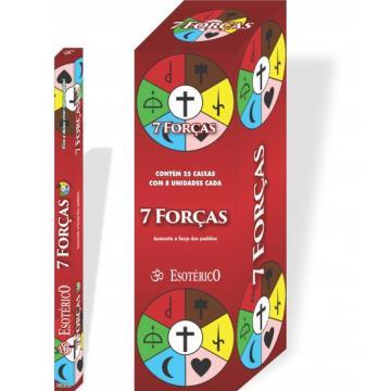 Incenso 7 forças - Kokeshi Presentes