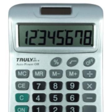 Calculadora  de Mesa 8 Digitos - Truly - 6001-8