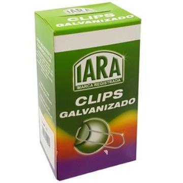 CLIPS GALVANIZADO N 4/0  (CX) C/ 50