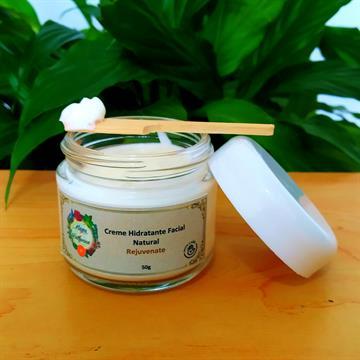 Creme Hidratante Natural Facial Rejuvenate com vitamina B3
