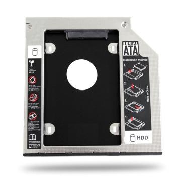 Adaptador Universal Caddy de HD 2,5 para Leitor de DVD com 9,5mm