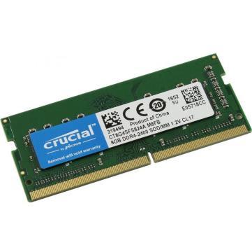 MEMORIA NOTEBOOK DDR4 - 2400 8GB SODIMM CRUCIAL