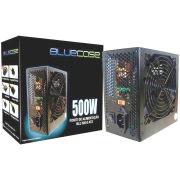 BLU 500-E ATX FONTE DE ALIMENTAÇÃO 500W BLUECASE
