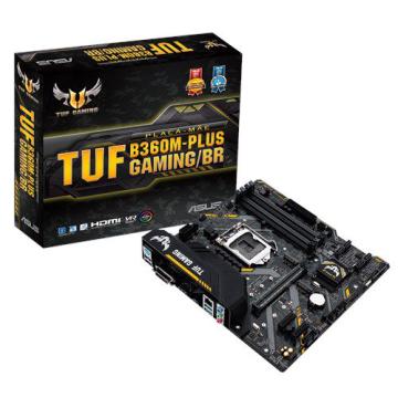 PLACA MAE ASUS MICRO ATX LGA (1151) DDR4 TUF B360MPLUS GAMING/BR