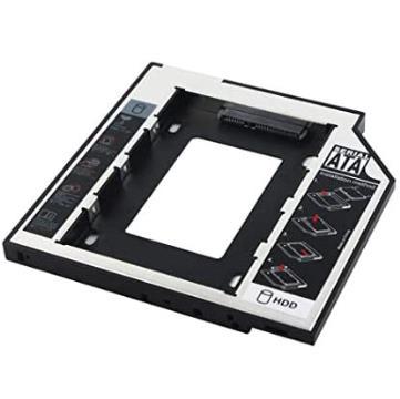 Adaptador Universal Caddy de HD 2,5 para Leitor de DVD com 12,7mm