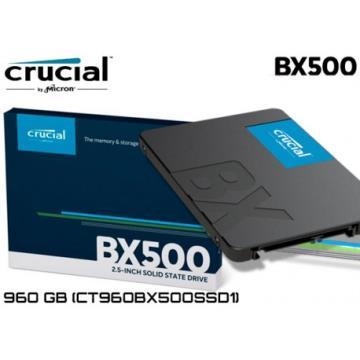 SSD 960GB Crucial BX500 SATA 6Gb/s 2.5-inch SSD