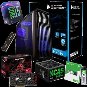 COMPUTADOR KIT GAMER INTEL CORE i5-9400F 8GB SSD M.2 120GB RX570