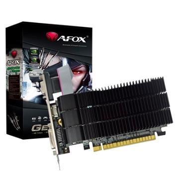 PLACA DE VIDEO AFOX GT210 MEMORIA 1GB DDR3 - AF210-1024D3L5-V3