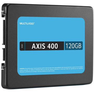 SSD Multilaser 120GB Memória SS101 2,5 pol