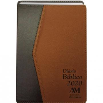 Diário Bíblico 2020 - Luxo - Caramelo  - 428999