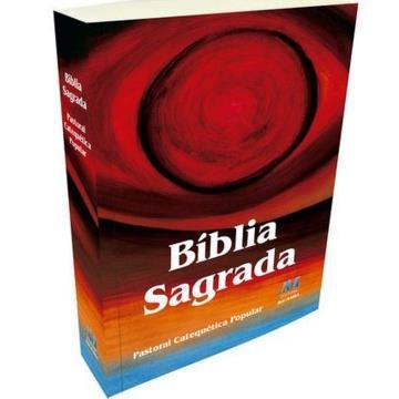 Bíblia Sagrada Pastoral Catequética Popular (Edição Especial) - 616096