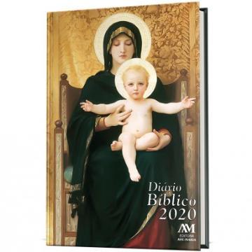 Diário Bíblico 2020 - Capa Dura - Maria - 428814