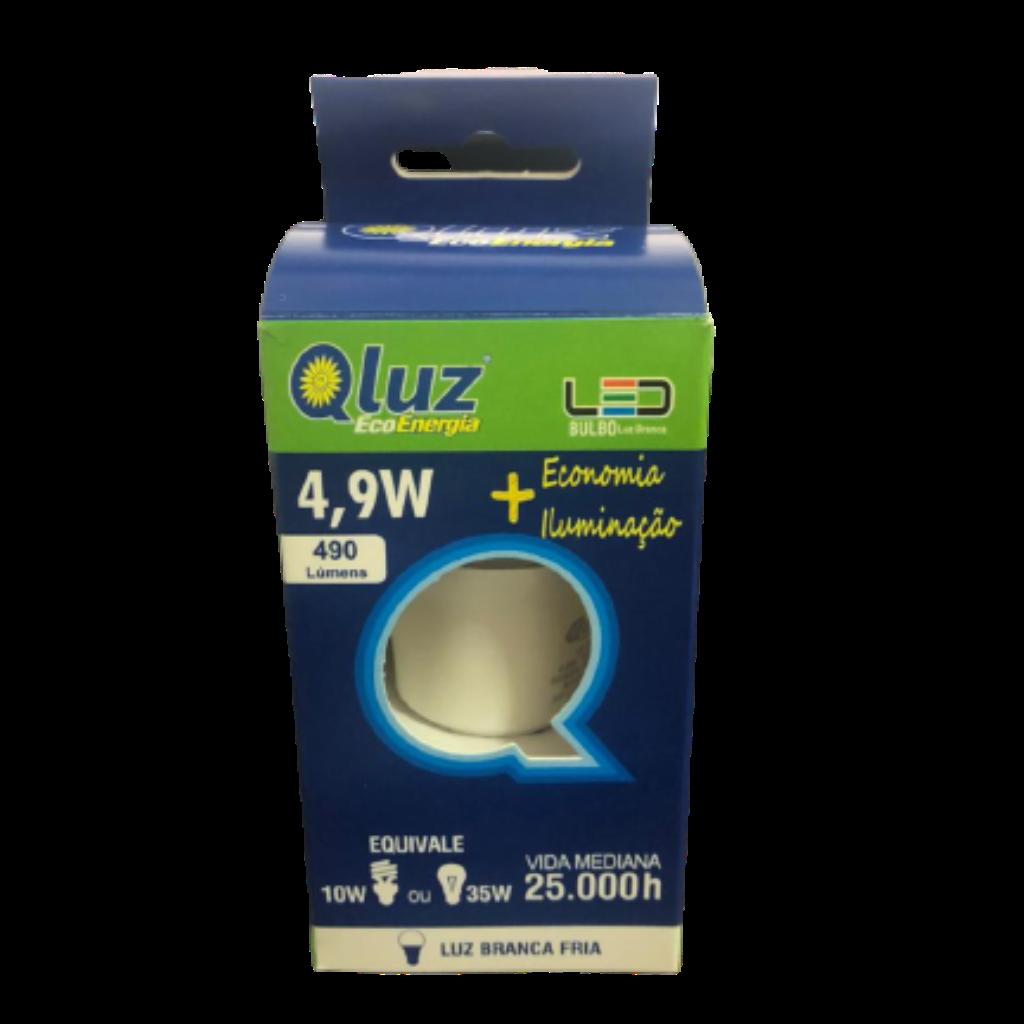 Lâmpada LED 4,9W Qluz
