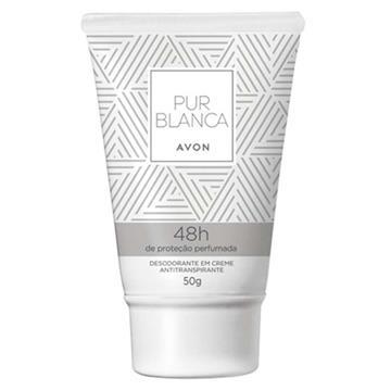 501090 Desodorante Avon Pur Blanca em Creme 50g