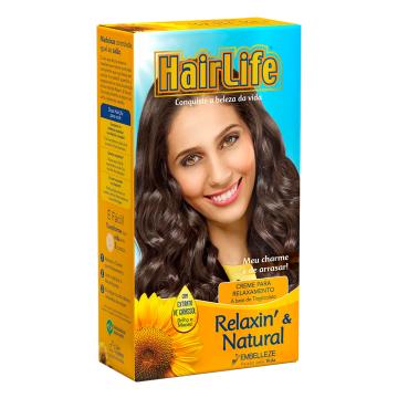 501831 Creme para Relaxin e Ntural Hair Life 180g
