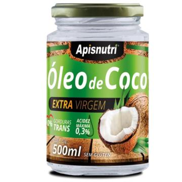 82322 Óleo de Coco Extravirgem Apisnutri 500ml