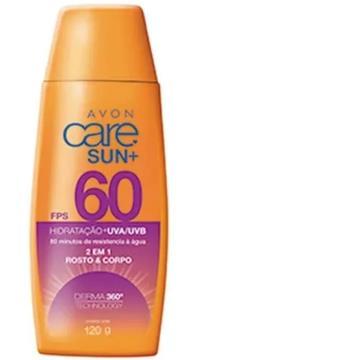530445 Protetor Solar Corporal Care Sun FPS 60 Avon 120g