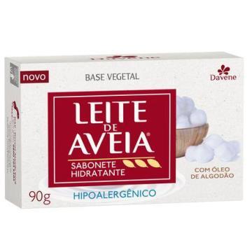 945001 Sabonete Barra Hipoalergênico Leite de Aveia 90g