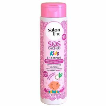 95116 Shampoo Salon Line Kids Cachos S.O.S 300ml