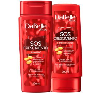 666316 Kit Shampoo e Condicionador SOS Crescimento DaBelle