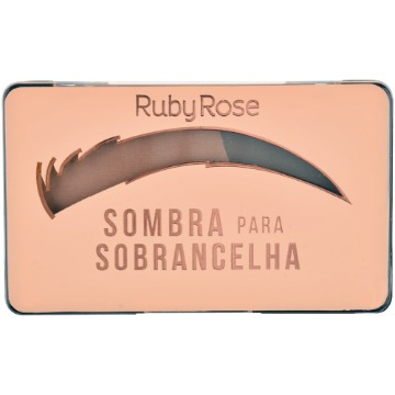534861 Sombra para Sobrancelhas Chocolate 3 Ruby Rose