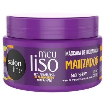 951921 Máscara de Hidratação Salon Line Matizadora Meu Liso 300g