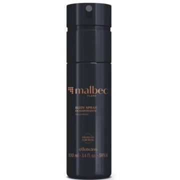 10288 Malbec Flame Boticário Desodorante Spray Regular 100ml