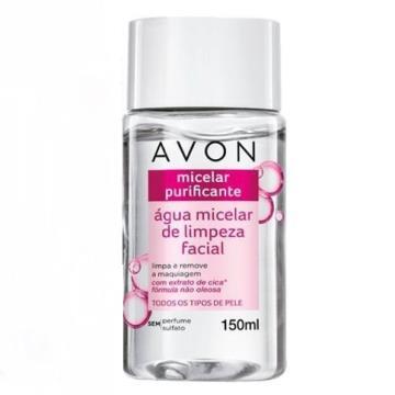 520489 Água Micelar de Limpeza Facial Purificante Avon 150ml