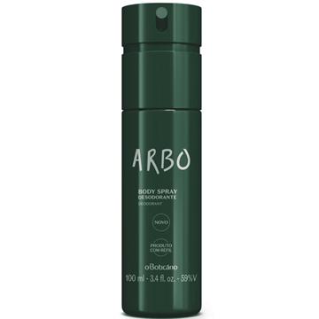 23455 Arbo Desodorante Spray Regular Boticário 100ml