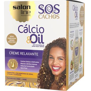 346932 Creme Relaxante Salon Line Cálcio & Oil
