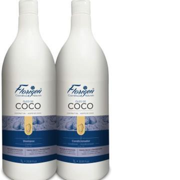 919643 Kit Shampoo + Condicionador Coco Florigen 1litro (cada)