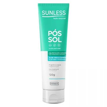 214231 Pós Sol Sunless Aloe e Vera Loção 120g