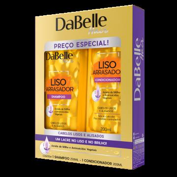 666309 Kit Shampoo e Condicionador Liso Arrasador DaBelle