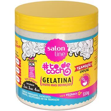57609 Gelatina Salon Line Transição Capilar #todecacho 550g