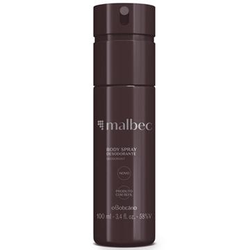 25041 Malbec Boticário Desodorante Spray Regular 100ml