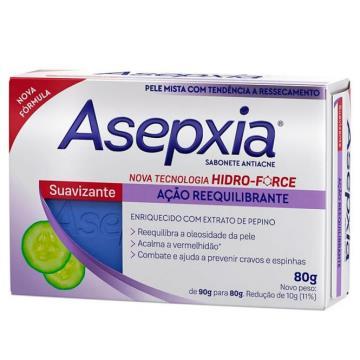 409540 Sabonete Asepxia Suavizante Antiacne em Barra 80g