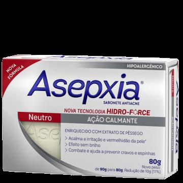 409515 Sabonete Asepxia Neutro Antiacne Barra 80g