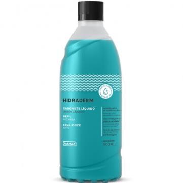 209961 Sabonete Líquido Hidraderm Erva Doce Refil Farmax 500ml