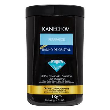 410669 Creme Condicionante Reparador Banho de Cristal Kanechom 1kg
