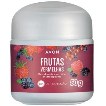182251 Desodorante Avon Frutas Vermelhas em Creme 55g
