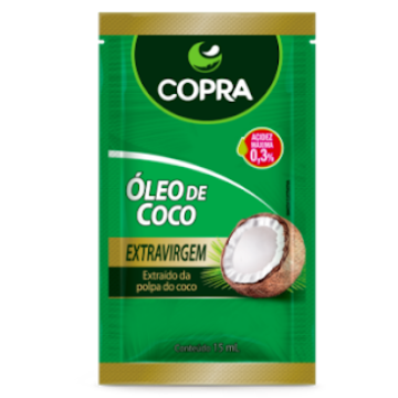 356246 Óleo de Coco Extravirgem Sachê Copra 15ml