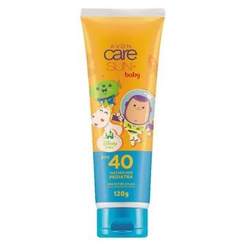 500087 Protetor Solar Sun + Baby FPS 40 Avon 120g