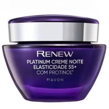 512833 Creme Facial Renew Platinum Elasticidade 55+ Noite 50g