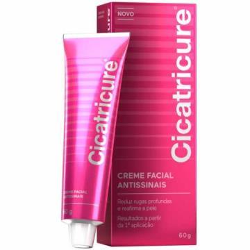 409632 Creme Cicatricure Antissinais 3 Benefícios Facial 60g