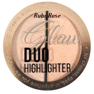 527399 Duo Iluminador Glow Cor 1 HB-7522 Ruby Rose