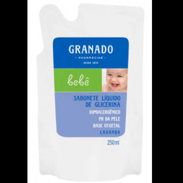 922472 Sabonete líquido Bebê Glicerina Lavanda Refil Granado 250ml