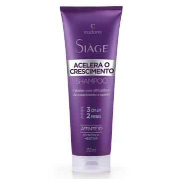 92385 Shampoo Siàge Acelera o Crescimento Eudora 200ml
