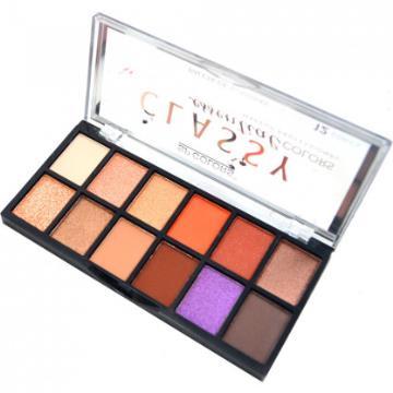 122377 Paleta de Sombras Classy Essential SP157 Colors Cor B SP Colors