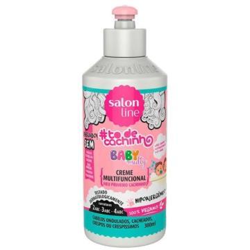 955059 Creme de Pentear Salon Line Baby Multifuncional #todecachinhos 300ml