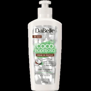 666521 Creme de Pentear Coco Poderoso DaBelle 270g